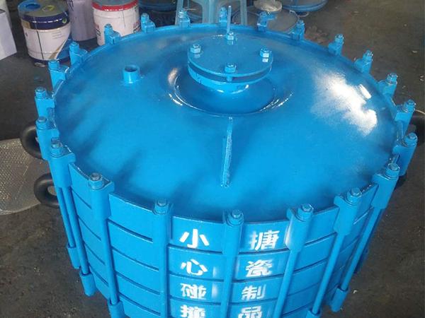 搪瓷碟片式冷凝器